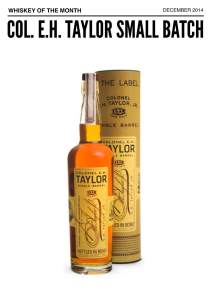 December 2014 Whiskey of the Month