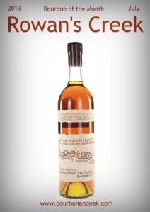 July 2013 Bourbon of the Month
