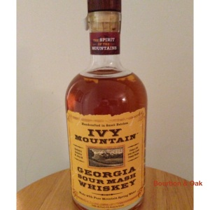 Georgia Sour Mash Whiskey Our Rating: 93%