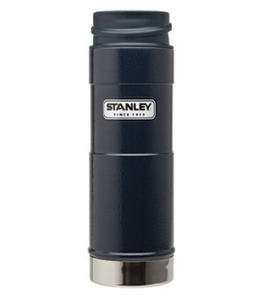A Stanley Thermos is about as classic as you can get. I can remember taking vacations as a child and my Father having his green Stanley filled with coffee sitting between the seats. They've come a long way with their design but have always remained the same with quality. I carry one of these everyday of my life and it has always kept whatever I'm drinking piping hot or ice cold. Get it here.