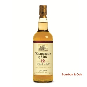 Knappogue Castler 12 Year Single Malt Irish Whiskey Our Rating: 88%
