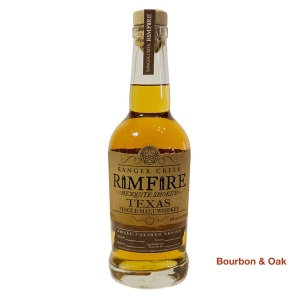 Ranger Creek Rimfire Mesquite Smoked Texas Single Malt Whiskey Our Rating: 79%
