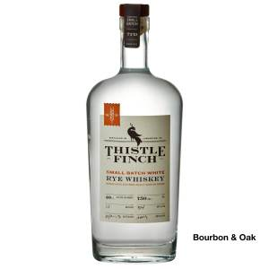 Thistle Finch Small Batch White Rye Whiskey