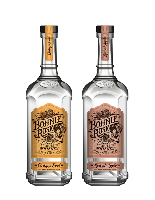 BONNIE ROSE, a new Tennessean white whiskey launches in Nashville July 13th. (PRNewsFoto/BONNIE ROSE)