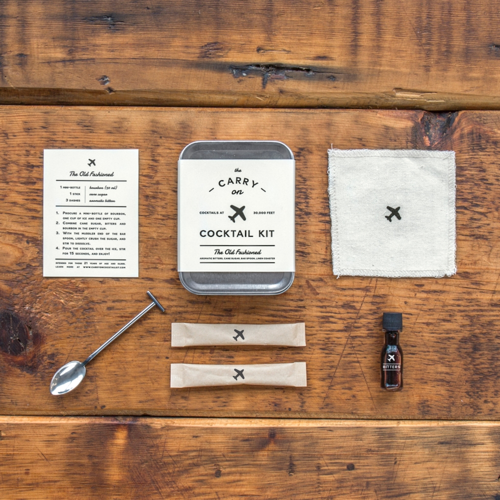 W&P Design x Old Fashioned Carry On Cocktail Kit (4)
