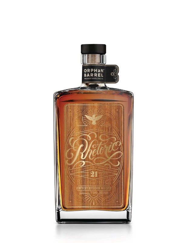 Orphan Barrel Whiskey Distilling Company Releases Rhetoric 21-Year-Old Kentucky Straight Bourbon Whiskey (PRNewsFoto/DIAGEO)